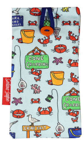Selina-Jayne Gone Crabbing Limited Edition Designer Soft Glasses Case